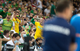 Sirgalių emocijos sausakimšoje arenoje per Olimpinės atrankos finalą