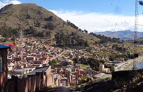 Bolivijos įdomybės La Pase ir netoli jo