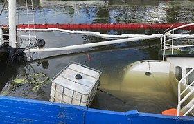 Triskart Danėje skendusio laivo istorijoje – netikėtas posūkis