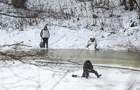 Aplinkosaugininkai: šaltesni orai gali paskatinti žuvų gaišimą