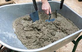Betonas be cemento – ką sugalvojo Japonijos mokslininkai?