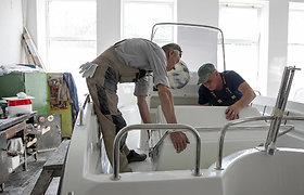 Laivus gaminanti Šalčininkų bendrovė išsiverčia be vandens telkinių