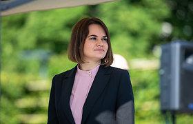 S.Cichanouskaja ragina Prancūziją imtis ryžtingų veiksmų dėl Baltarusijos