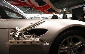 Didžiojoje Britanijoje atidaryta Džeimso Bondo transporto priemonių paroda