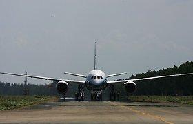 Oro transporto paslaugos per ketvirtį brango beveik 9 proc.