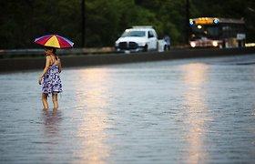 Naujojoje Zelandijoje dėl liūčių ir potvynių pavojaus – nepaprastoji padėtis