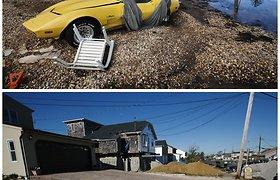 Sandy uragano metinės: prieš metus ir šiandien