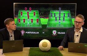 """Žvelgiantiems giliau: 15min laida apie """"Euro 2016"""". Portugalija – Velsas"""