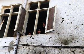 Pakistane prie mokyklos sprogo bomba