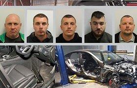 Londono policija sutriuškino lietuvių gaują, kuri pavogė automobilių beveik už 3 mln. svarų sterlingų