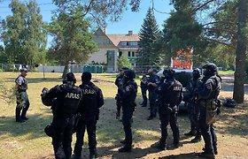 Dėl migrantų Alytaus apskrities teritorijoje sustiprintas patruliavimas