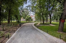 Atnaujintas Reformatų parkas Vilniuje