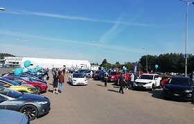 Pasaulinės elektromobilių dienos proga – išskirtinis pasiekimas Lietuvoje