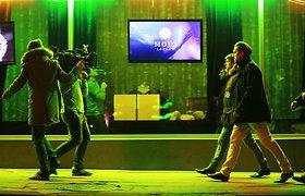 """Serialo """"0 sveikų"""" filmavimas naktiniame klube """"Mojo Lounge"""""""