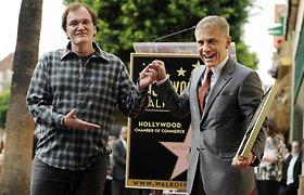 Austrų aktorius Christophas Waltzas gavo savo vardo žvaigždę Holivudo šlovės alėjoje