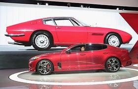 """KIA Stinger"" pristatomas Detroito automobilių parodoje"
