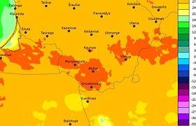 Lietuvoje kasdien – vis nauji karščio rekordai