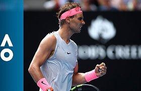 Australian Open 2018: Rafaelis Nadalis - Diego Schwartzmanas