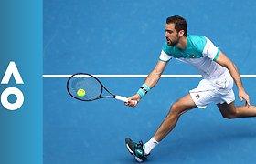 Australian Open 2018: Pablo Carreno Busta - Marin Čiličius