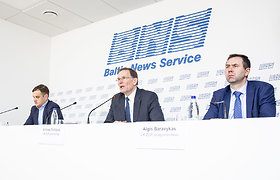 """Lietuvos žemės ūkio rūmų spaudos konferencija tema """"Antroji ŽŪR organizacijų protesto akcija dėl BŽŪP 2021-2020 m. laikotarpio"""""""