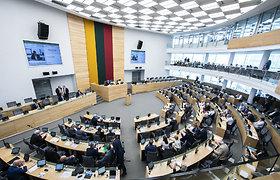 Seimas atsisakė siūlymo nuo visuomenės slėpti rinkimų ir politikų duomenis