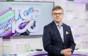 """Vertingiausios Lietuvos įmonės. """"Telia Lietuva"""" vadovas D.Strömbergas: """"Pasiekti milijardo eurų kompanijos vertę buvo mano tikslas"""""""
