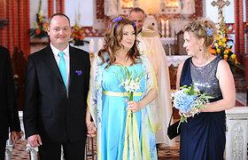 Palangoje už mylimojo Michaelio Münstedto ištekėjo dainininkė Andželika Petrikytė