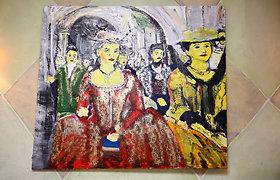 """Mindaugas Jankauskas pristatė tapybos parodą """"Let Them Eat the Cake"""""""