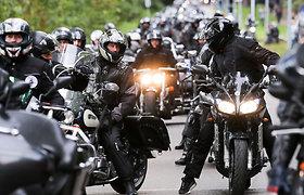 Apskaičiavo: tik trečdalis avarijų, kuriose dalyvauja motociklininkai, įvyksta dėl jų kaltės
