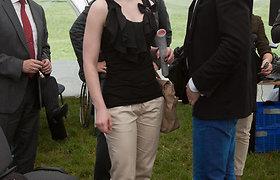 Šokėja Viktorija Engelgardt-Bajor per nėštumą priaugtus kilogramus numetė be jokių pastangų