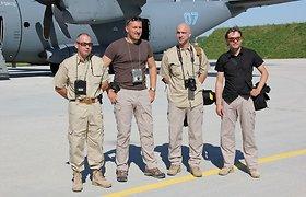 """Algis Ramanauskas kuria dokumentinį filmą """"Misija Afganistanas"""""""