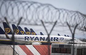 """""""Ryanair"""" pranešė planuojanti uždaryti bazę Frankfurto Hano oro uoste"""