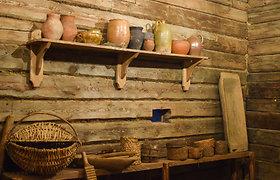 Lietuvos liaudies buities muziejuje įrengtas pabėgimo kambarys