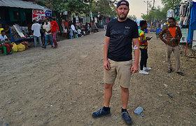 Ilga kelionė į Etiopijos sostinę, besigydant pačiam