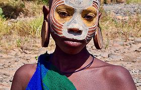 Dano apsilankymas pas Surma gentį Etiopijoje