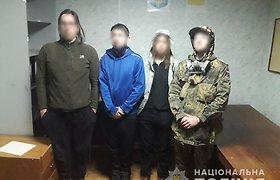 """Černobylyje sulaikyti """"stalkeriai"""""""