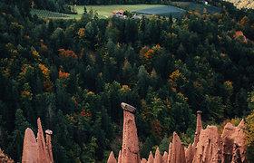 """Keistosios """"žemės piramidės"""" Italijoje"""