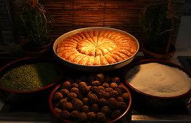 Tikros turkiškos baklavos gaminimas
