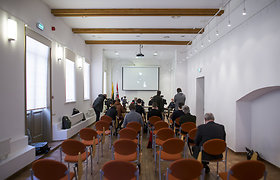 LGGRTC spaudos konferencija apie atrastus partizanų palaikus Našlaičių ir Leipalingio kapinėse