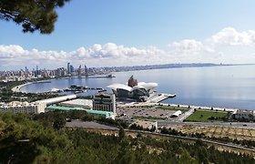 Azerbaidžano ekonomika pirmąjį metų ketvirtį susitraukė 1,3 proc.