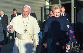 Žurnalistai: Lietuvos metų įvykis – popiežiaus vizitas, pasaulio – Skripalių apnuodijimas