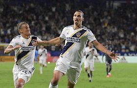 Zlatanas Ibrahimovičius originaliai pranešė liekantis Los Andžele