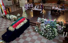 Vilniuje laidojama Vidmantė Jasukaitytė