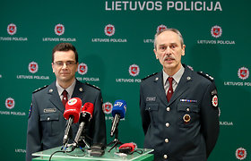 Policijos spaudos konferencija apie Nepriklausomybės akto ekspertizę