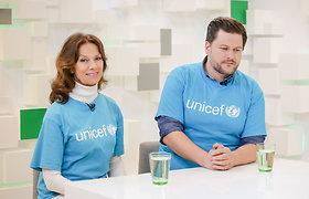 """UNICEF misijos """"Už kiekvieną vaiką"""" dalyviai Merūnas Vitulskis ir Virginija Kochanskytė –apie tragišką Mozambiko vaikų realybę"""