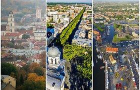 Muzikinis testas: ar pažinsite bent 11 iš 16 dainų apie Lietuvos miestus?