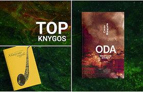 Knygų TOP10: keisti pasauliai, karo siaubai, S.Parulskis ir muzikos magija