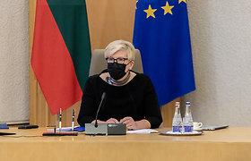 Vyriausybės posėdis ir spaudos konferencija rugsėjo 22 d.