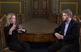 """""""Apie ką negalima kalbėti"""" su politologe Margarita Šešelgyte"""