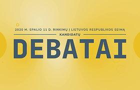 Seimo rinkimų debatai: Pašilaičių rinkimų apygarda (II)